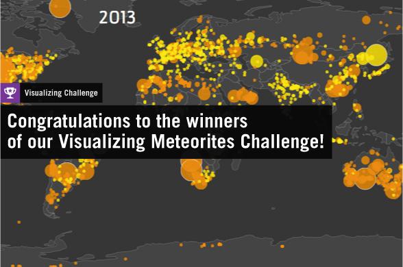 Visualizing Meteorites Challenge Winners
