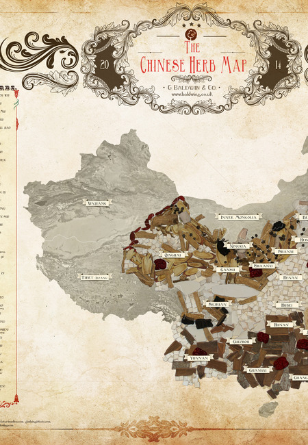Chinese herb map final