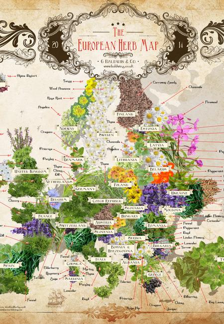 Europe herb map final
