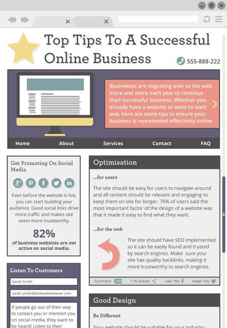 Dlr business website