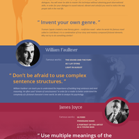 Writers tips infogr good