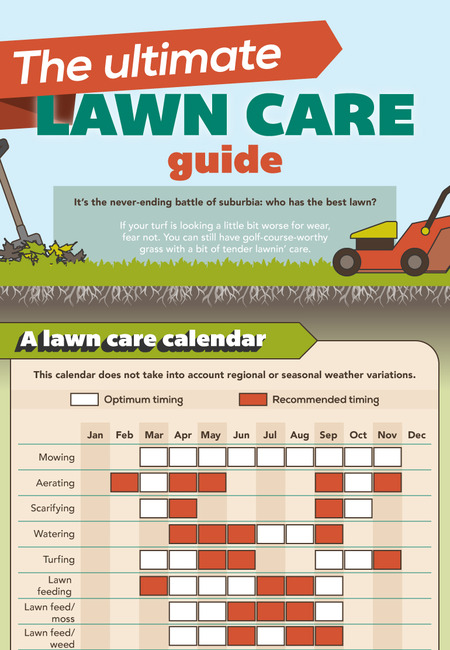 The ultimate lawncare guide