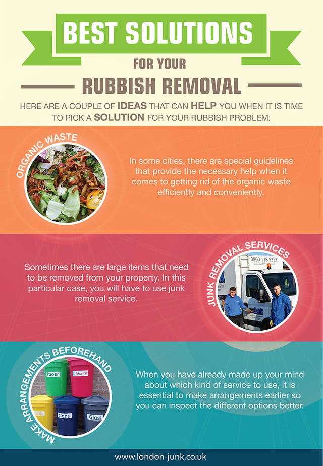 Best solutions for your rubbish removal