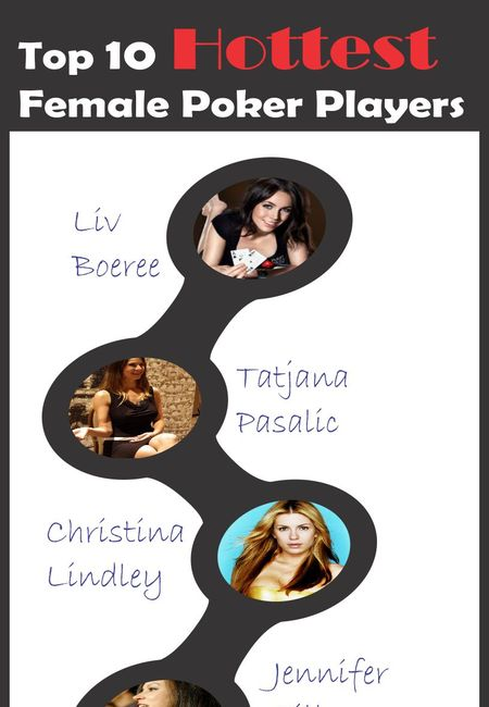 Hottest female poker players