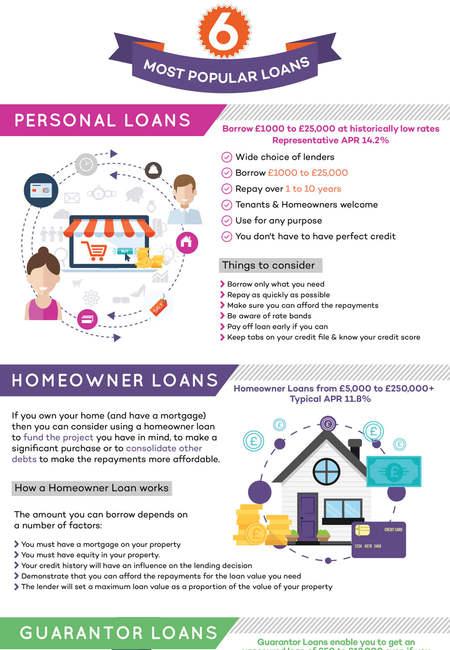6 most popular loans