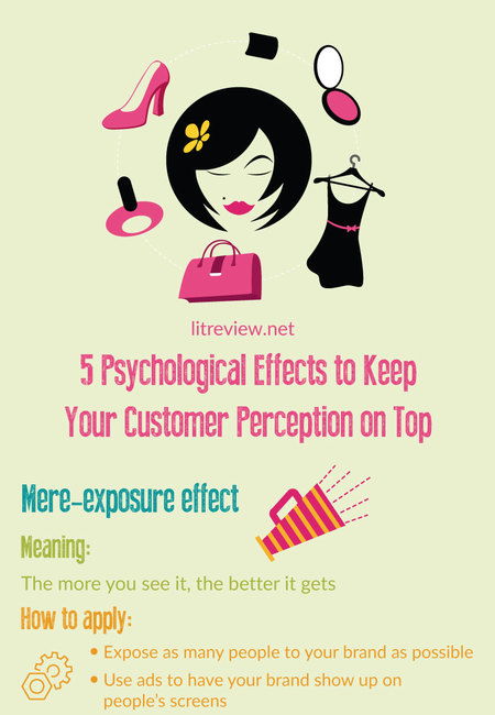 5 psychological effects to keep your customer perception on top