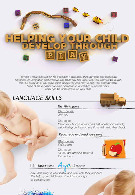 Helping your child develop through play