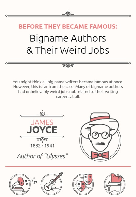 Writers weird jobs1