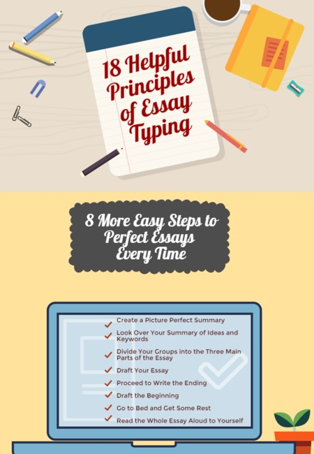 18 helpful principles of essay typing