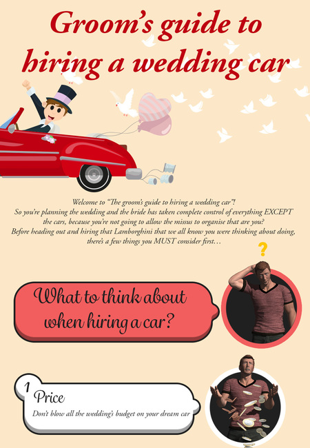 Grooms guide to hiring a wedding car
