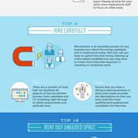Cost saving infographic