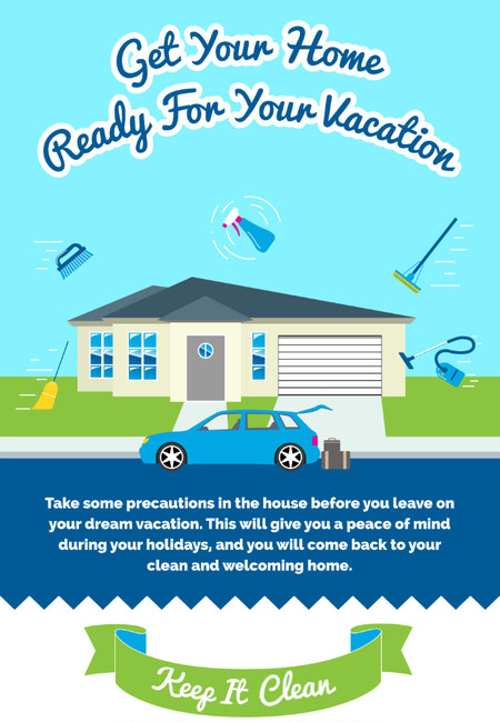 Home cleaning vacation