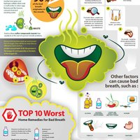 Halitosis cause