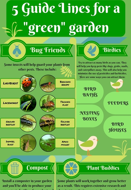 5 guidelines for a %22green%22 garden