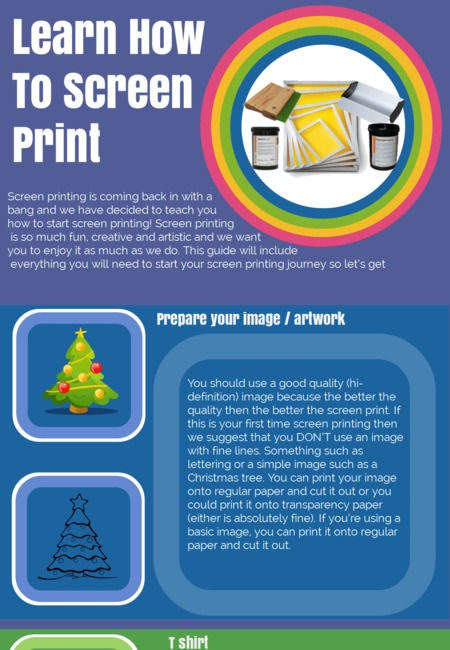 How to screen print