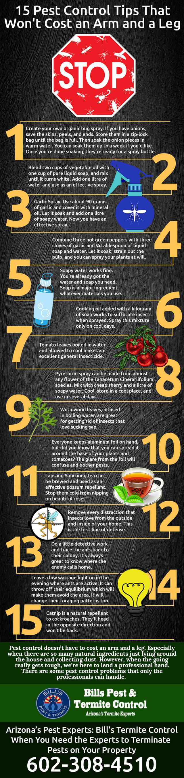 Infographic 128 pest control