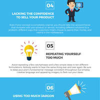Infographic 10 mistakes to avoid when writing a business plan