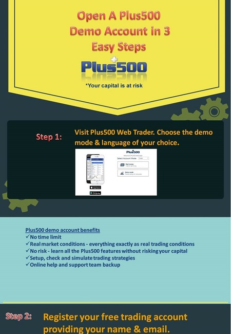 How to open plus500 demo account