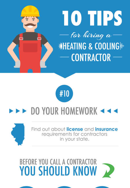 10 tips hvac contractor infographic