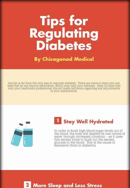 Tips for regulating diabetes