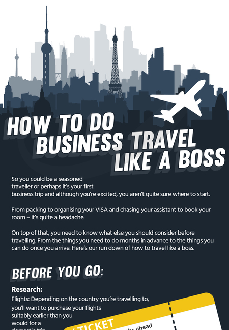 How to do business travel like a boss  image