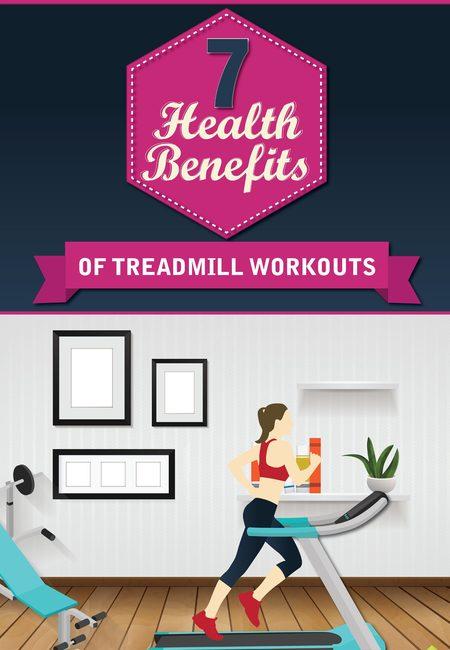 Treadmill benefits infographic
