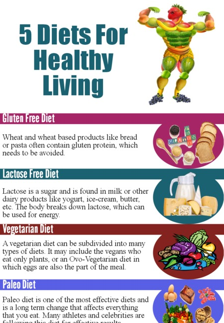5 diet for healthy living