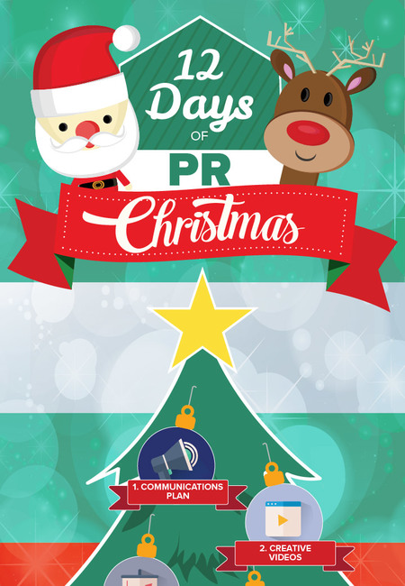 12 days pr infographic