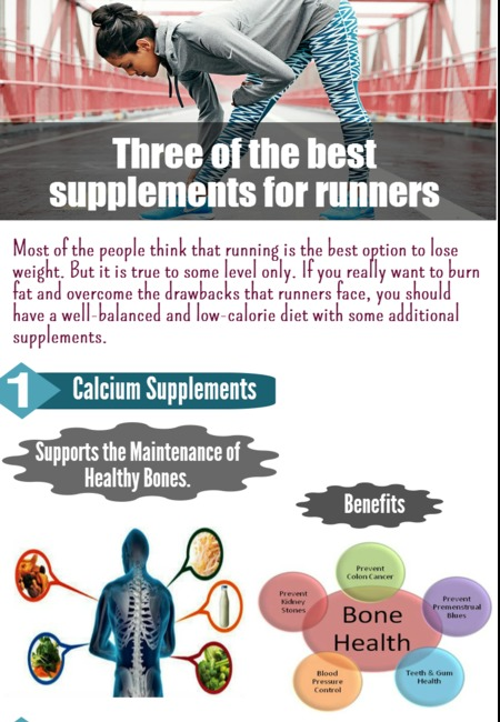 Three of the best supplements for runners