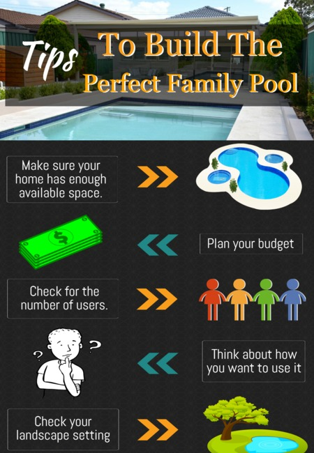 Tips to build the perfect family pool
