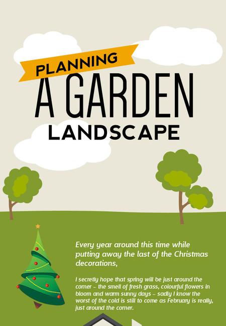 Planning a garden landscape