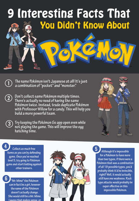Pokemon go infographic