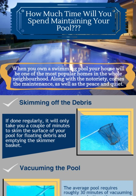 How much time will you spend maintaining your pool