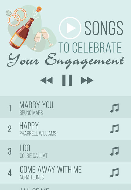 1 songs to celebrate your engagement