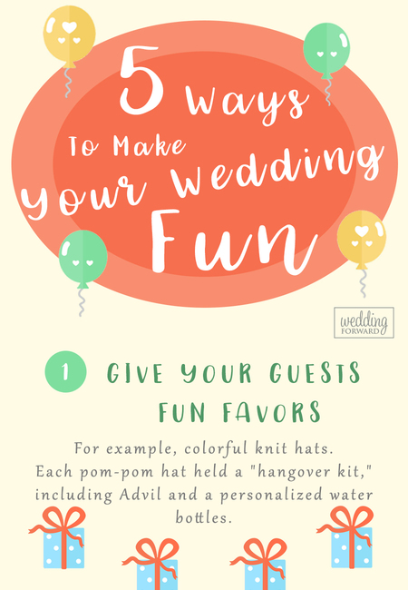 Ways to make your wedding fun