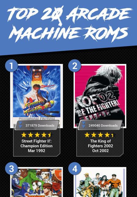 Top 20 arcade machine roms