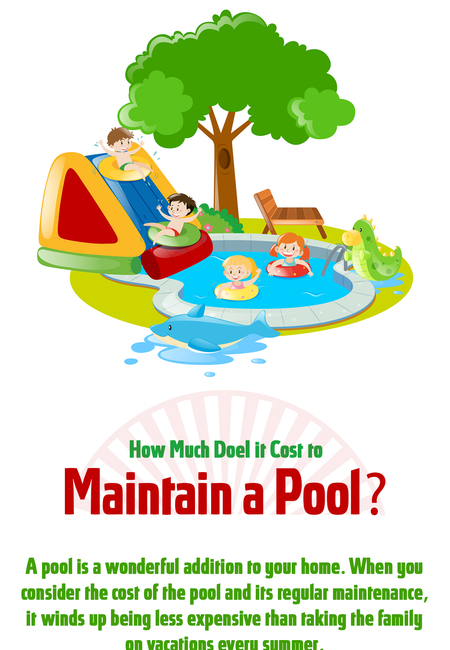 How much does it cost to maintain a pool