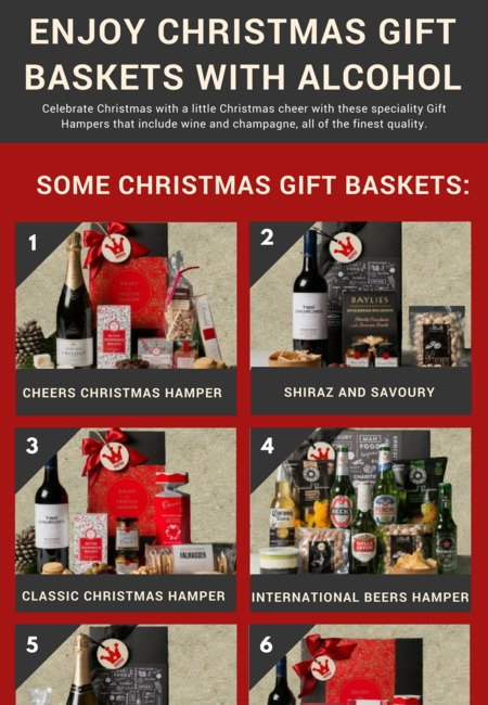 Enjoy christmas gift baskets with alcohol (1)