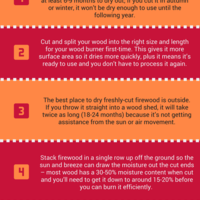 5 tips to drying firewood