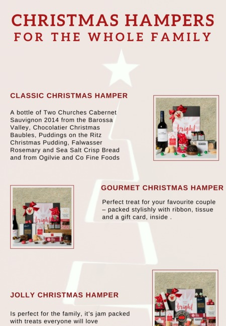 Christmas hampers for the whole family