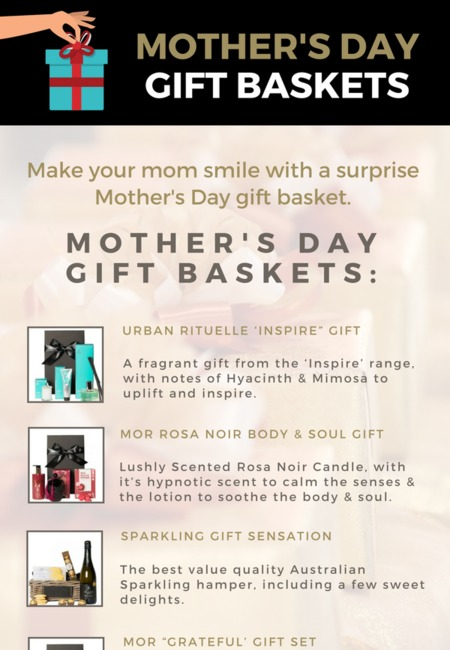 Mother's day gift baskets