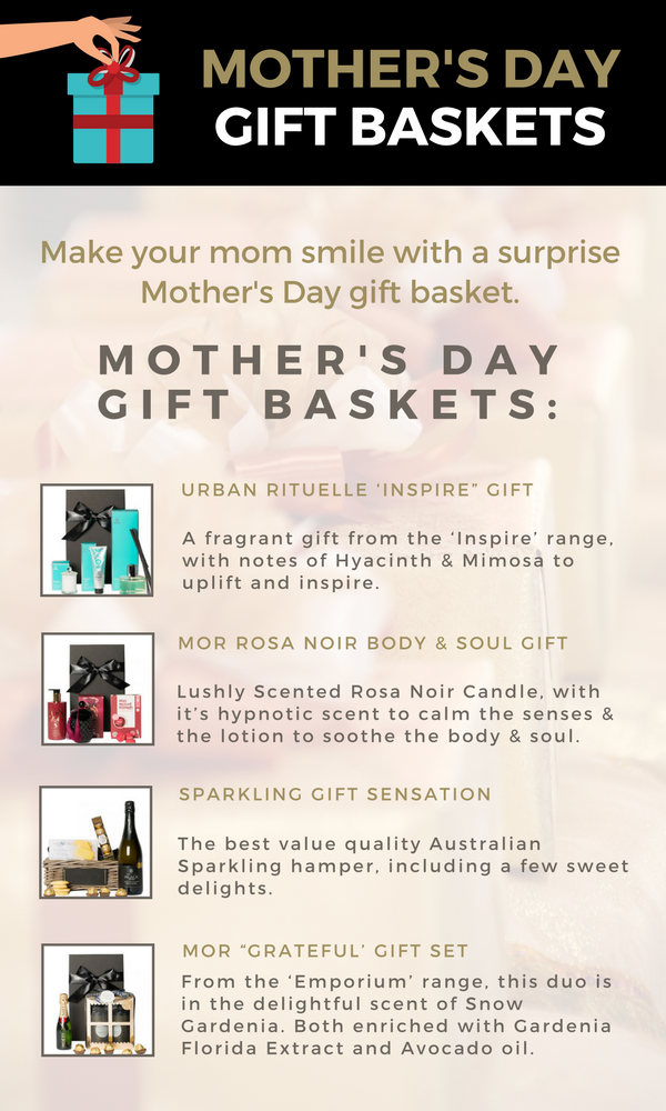 Make Your Mom smile With a Mather's Day Gift Basket