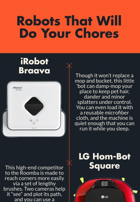 Robots that will do your chores