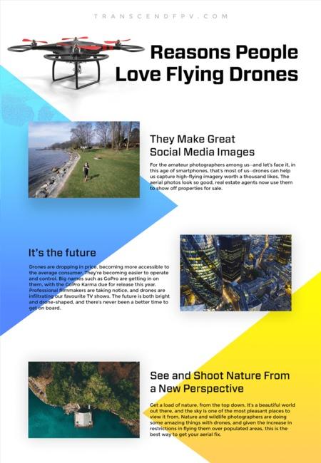 Reasons people love drones