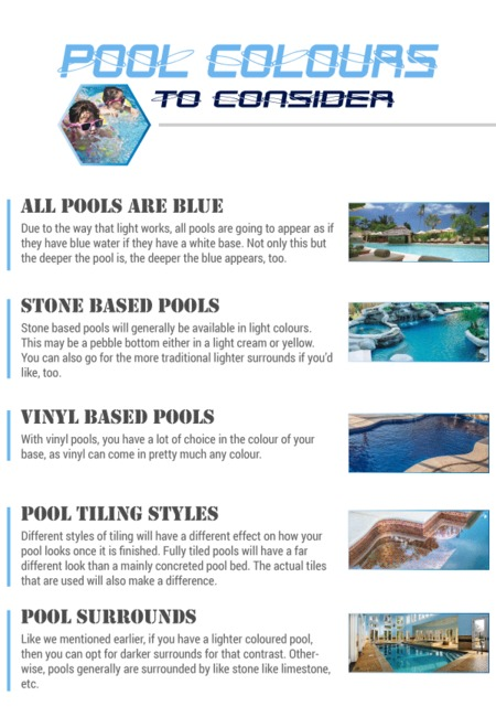 Pool colours to consider