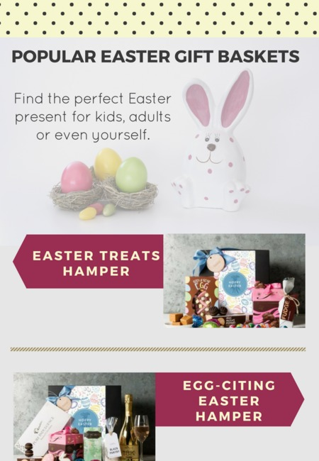 Popular easter gift baskets