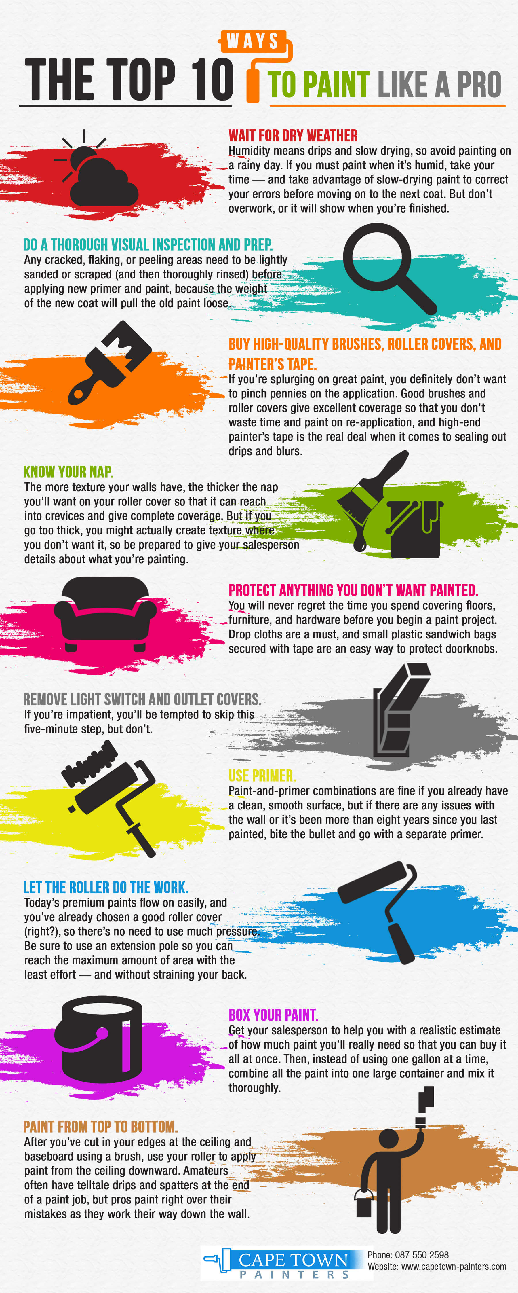Step by Step Guide on How to Paint Like a Professional