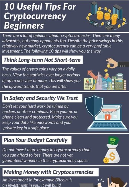 10 useful tips for cryptocurrency beginners