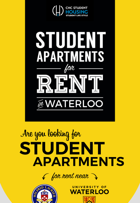 Fully furnished student apartments for rent in waterloo