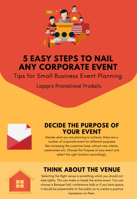 easy steps to nail any corporate event